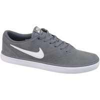Shoes Men Low top trainers Nike SB Check Solar Grey