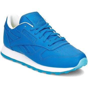 Shoes Women Low top trainers Reebok Sport Classic Leather Face Blue