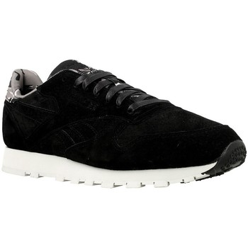 Shoes Men Low top trainers Reebok Sport CL Leather Tdc Black
