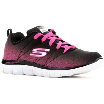 Shoes Children Low top trainers Skechers Skech Appeal 20 Black,Pink