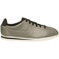 Shoes Children Low top trainers Nike Cortez Premium GS Olive