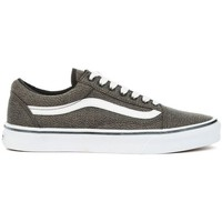 Shoes Low top trainers Vans Old Skool Suiting White, Grey