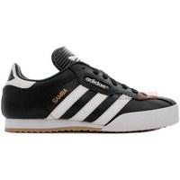 Shoes Men Low top trainers adidas Originals Samba Super White, Black