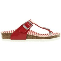 Shoes Children Flip flops Birkenstock Gizeh Kids Red