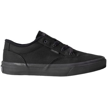 Shoes Children Low top trainers Vans Winston Black