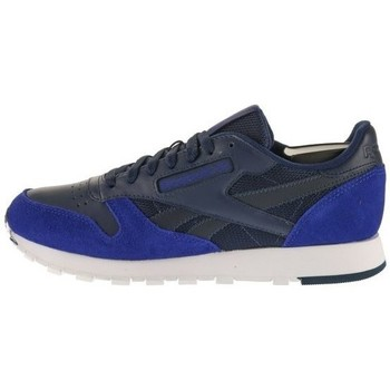 Shoes Men Low top trainers Reebok Sport CL Leather Blue,Graphite