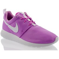 Shoes Children Low top trainers Nike Rosherun GS Purple