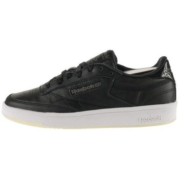 Shoes Women Low top trainers Reebok Sport Club C 85 Lthr Black