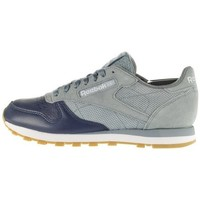 Shoes Men Low top trainers Reebok Sport CL Leather LS Grey