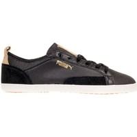 Shoes Men Low top trainers Puma Slim Court Citi Series Black