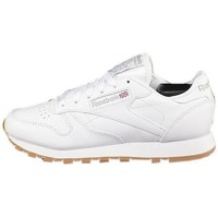 Shoes Women Low top trainers Reebok Sport CL Lthr White