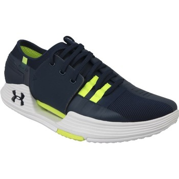 Shoes Men Low top trainers Under Armour Speedform Amp 20 Green, Navy blue