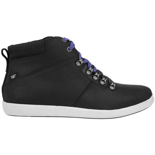 Shoes Men Hi top trainers Caterpillar Cat Black