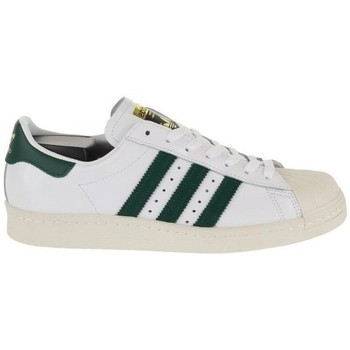 Shoes Men Low top trainers adidas Originals Superstar 80S White