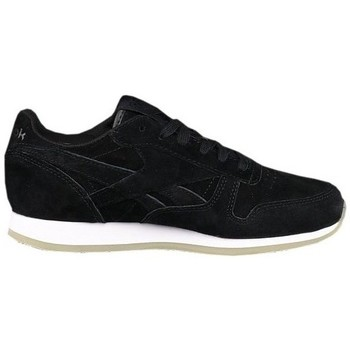 Shoes Women Low top trainers Reebok Sport CL Lthr Crepe Neutr Black