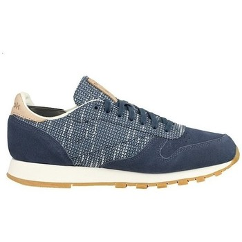 Shoes Men Low top trainers Reebok Sport Classic Leather Blue