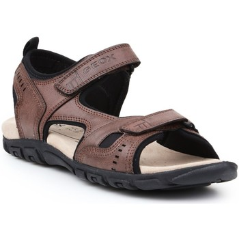 Shoes Men Outdoor sandals Geox U S Strada Brown
