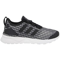Shoes Women Low top trainers adidas Originals ZX Flux Adv Verve Rita White, Black, Grey