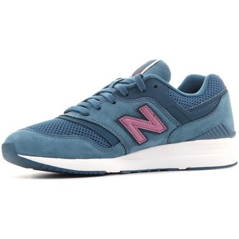 Shoes Women Low top trainers New Balance 697 Blue, Turquoise