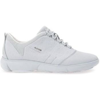Shoes Women Low top trainers Geox Nebula Grey
