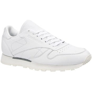 Shoes Men Low top trainers Reebok Sport CL Leather Omn White