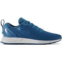 Shoes Men Low top trainers adidas Originals ZX Flux Adv SL White, Blue