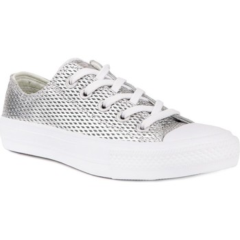 Shoes Women Low top trainers Converse Chuck Taylor All Star II Silver