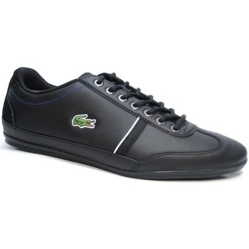 Shoes Men Low top trainers Lacoste Misano Sport 118 1 Cam Blkdk Blu Black