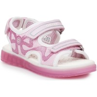 Shoes Children Outdoor sandals Geox J Sblikk GB Pink