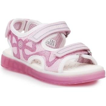 Shoes Children Outdoor sandals Geox J Sblikk GB Pink
