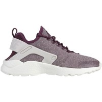 Shoes Women Low top trainers Nike W Air Huaraceh Run Ultra SE White, Burgundy