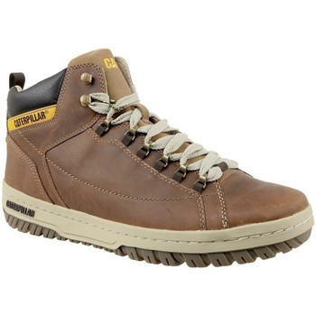 Shoes Men Hi top trainers Caterpillar Apa HI Beige,Brown