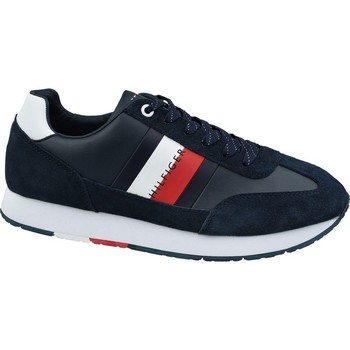 Shoes Men Low top trainers Tommy Hilfiger Corporate Leather Flag Runne