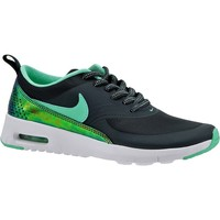 Shoes Children Low top trainers Nike Air Max Thea Print GS Black, Green