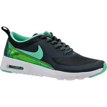 Shoes Children Low top trainers Nike Air Max Thea Print GS Black,Green