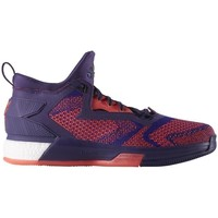 Shoes Men Basketball shoes adidas Originals Lillard 2 Boost Violet, Burgundy