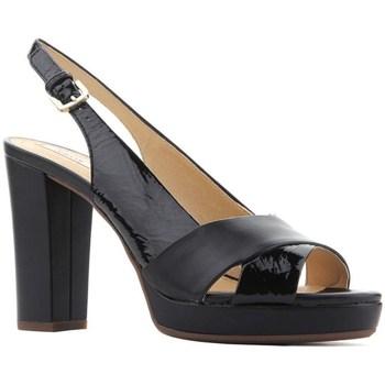 Shoes Women Sandals Geox D Mauvelle Black