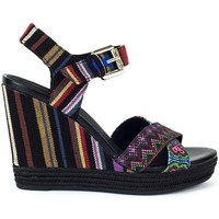 Shoes Women Sandals Geox Janira Black
