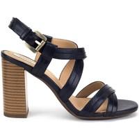 Shoes Women Sandals Geox Audalies High Sand Black