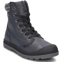 Shoes Women Hi top trainers Palladium Pampa Knit LP Black