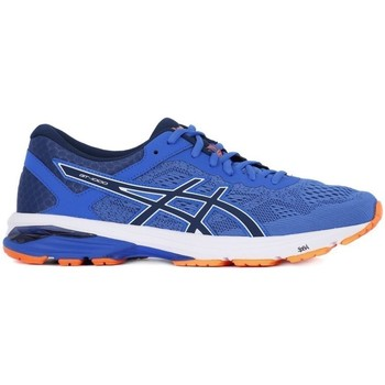 Shoes Men Running shoes Asics GT 1000 6 Blue White, Blue, Navy blue