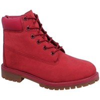 Shoes Women Mid boots Timberland 6 IN Prem Red