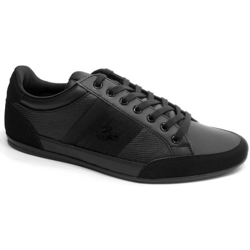 Shoes Men Low top trainers Lacoste Chaymon 419 1 Cma Black