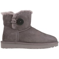 Shoes Women Snow boots UGG W Mini Bailey Button II Grey