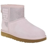 Shoes Women Snow boots UGG Classic Mini Sparkle Pink