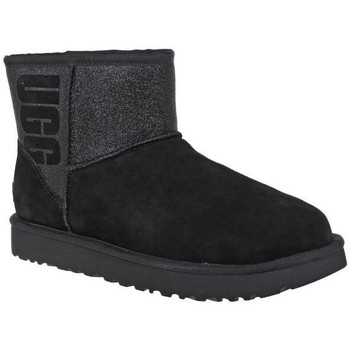 Shoes Women Snow boots UGG Classic Mini Sparkle Black