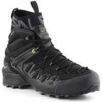 Shoes Men Walking shoes Salewa MS Wildfire Edge Mid Gtx Black