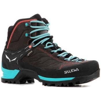 Shoes Women Fitness / Training Salewa WS Mtn Trainer Mid Gtx Turquoise,Black