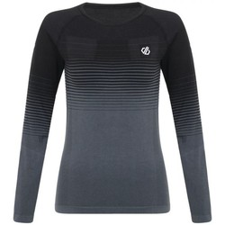 Clothing Women Long sleeved tee-shirts Dare 2b In The Zone Performance Base Layer Set Black Black