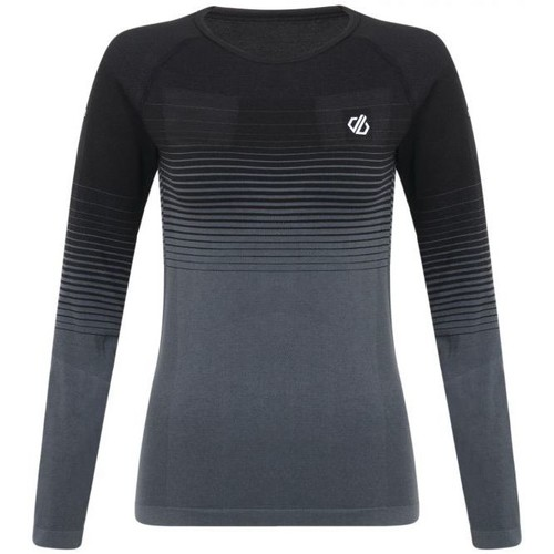 Clothing Women Long sleeved tee-shirts Dare 2b Women's In The Zone Performance Base Layer Set Black